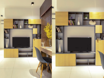 This is an image of in built iconest 4 in built tv cabinet