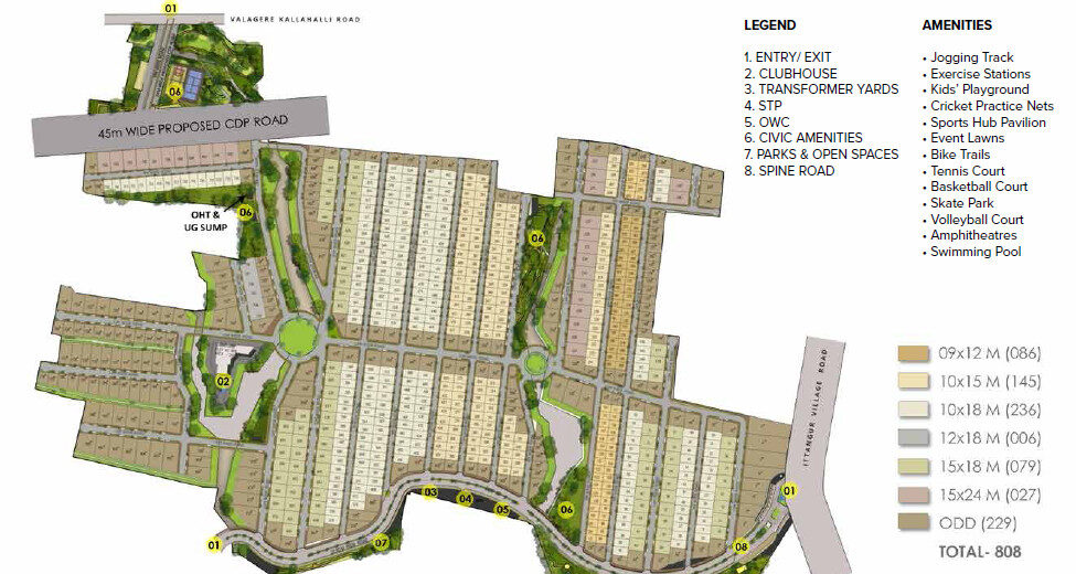 This is the master Plan of prestige great acres
