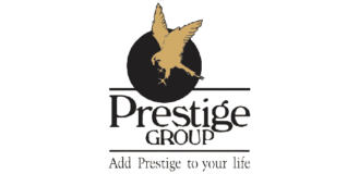 This is the logo of Prestige Group